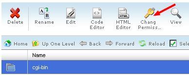 آموزش تغییر سطح دسترسی فایل یا پوشه در هاست cPanel